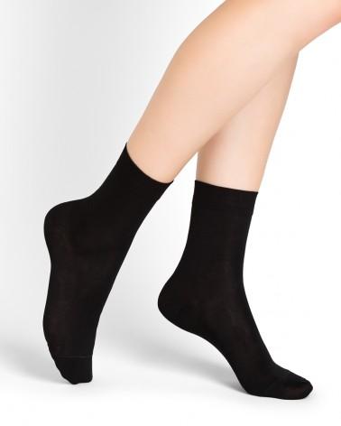 Mercerised cotton ankle socks