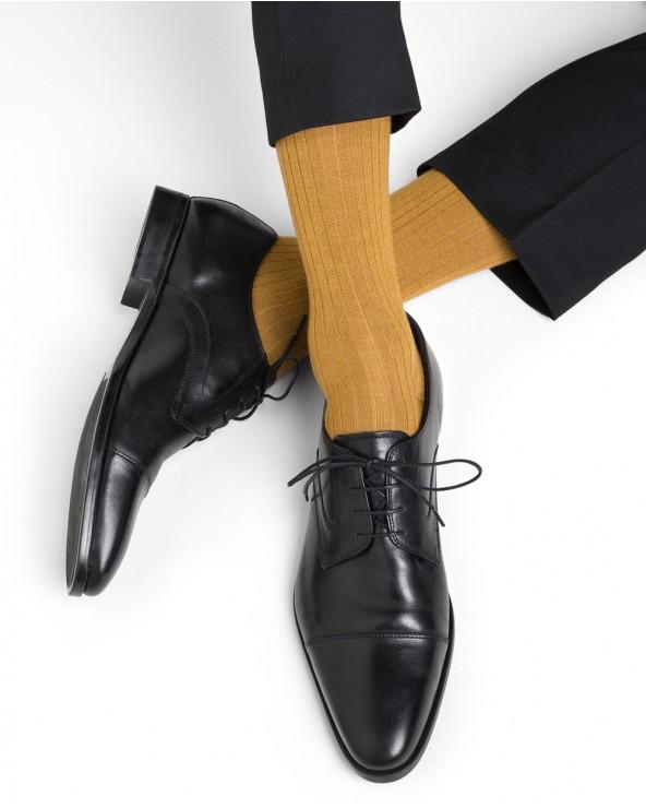 Cashmere and silk socks