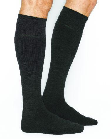 Warm wool over the calf socks