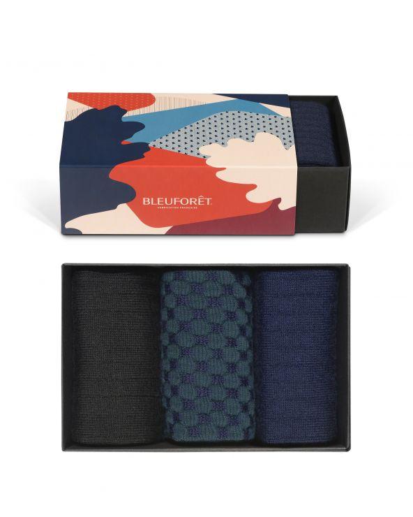 Fancy Wool Gift Box