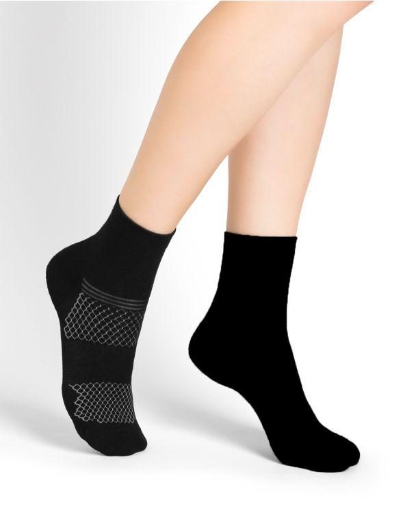 Dynamic sports mid-calf socks