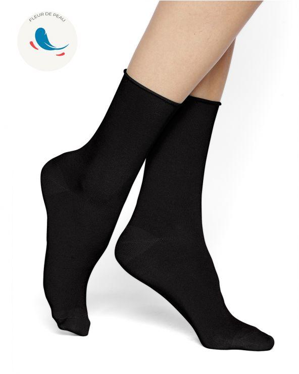 Hypoallergenic velvet cotton socks