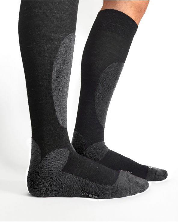 Wool ski socks - Unisex